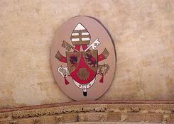 herb obecnego papieza Benedykta