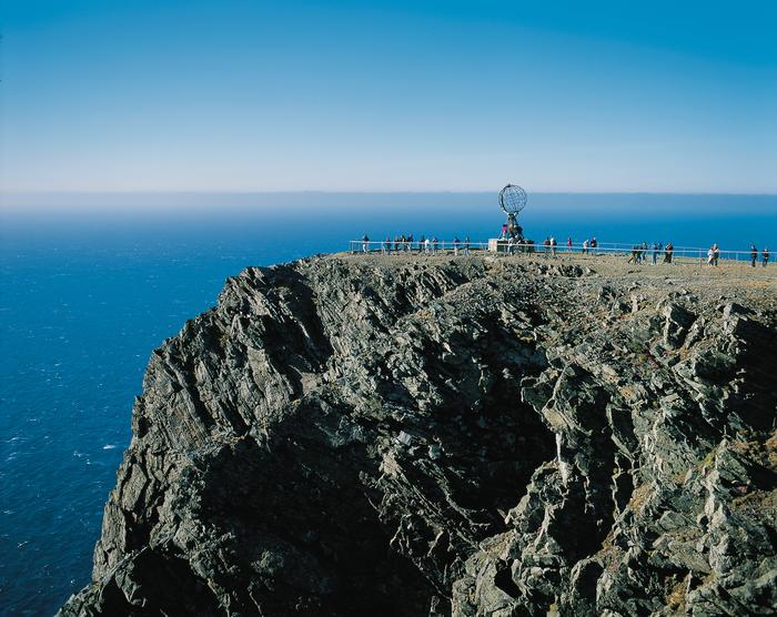 Nordkapp - Najbardziej wysunięte na północ miejsce w Europie