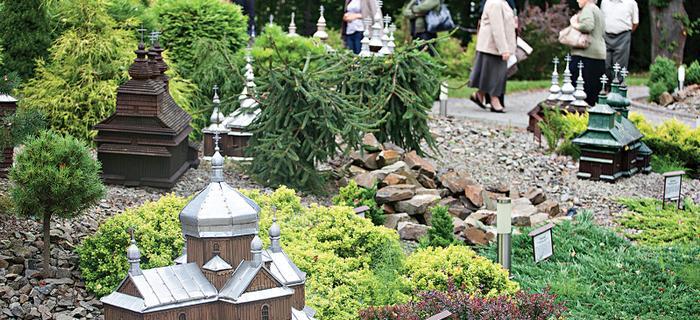 Bieszczady atrakcje: park miniatur w Orelcu