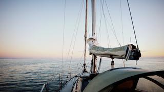 Świt na morzu