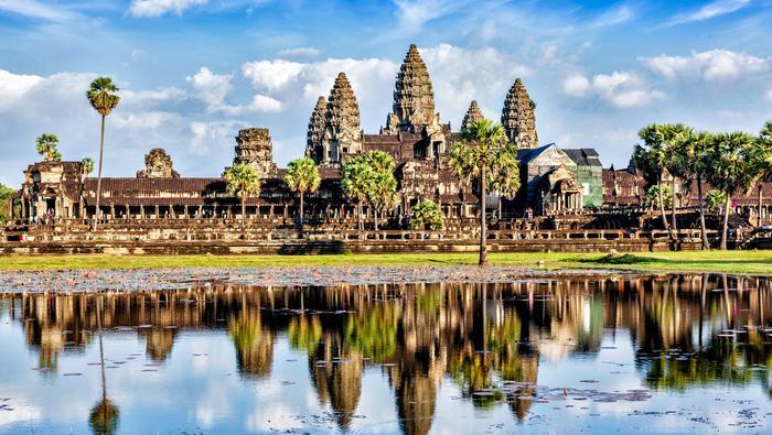 Świątynia Angkor Wat w Kambodży