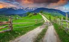 Rumunia, góry w Transylwanii