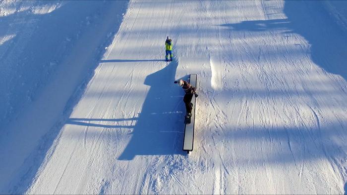 Snowpark w ośrodku Dwie Doliny Muszyna-Wierchomla