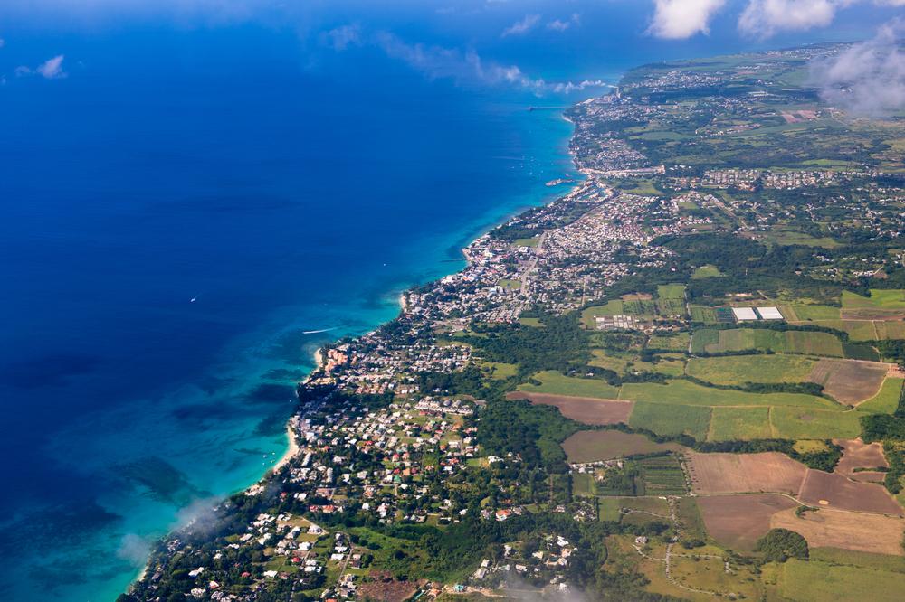 Barbados z lotu ptaka